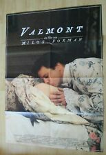 Filmplakat : Valmont ( Colin Firth , Annette Bening , Milos Forman )