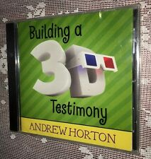 """LDS Mormon Youth Audio CD Entertaining """"Building a 3D Testimony"""" New"""
