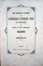 PERUGIA CONSERVATORIO GRAZIANI