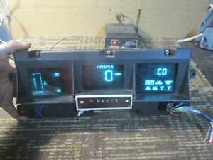 90 91 92 93 94 Lincoln Town Car Speedometer Instrument Cluster Oem 119k Miles