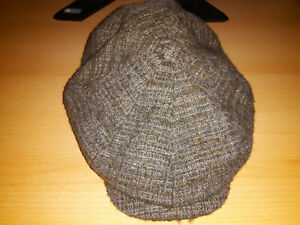 STETSON HIKO Wool Flatcap Mütze Ivy Cap Wintermütze Gatsby 6620505 grau Neu