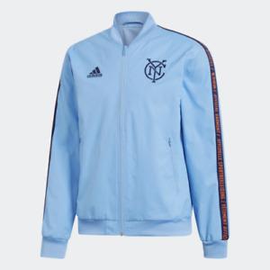 Adidas MLS New York City Anthem Jacket Blue DP5025