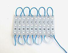 Block of 10 Large BBT Blue LED Waterproof 12 volt Courtesy Lights