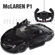 RASTAR 75100 R/C RADIO REMOTE CONTROL CAR MCLAREN P1 1/14 BLACK