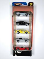 Hot Wheels Ferrari 5 Pack #L8244 (2007) | RARE International Release | Unopened