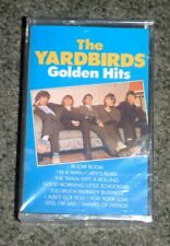 THE YARDBIRDS - GOLDEN HITS - CASSETTE TAPE - 10 TRACK (ITALY) NEW & SEALED RARE