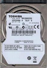 MK2565GSX HDD2H84 A SL01 S China Toshiba 250GB