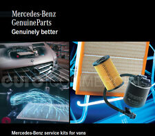 New Genuine Mercedes Sprinter W906 OM651 Service Kit - With Engine Oil MB228.51