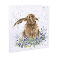 Wrendale Designs Bright Eyes Hare Canvas - Decorative Home Accessories