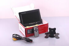 KFZ Monitor 7 Zoll TFT Bildschirm für Rückfahrkamera oder DVD Player