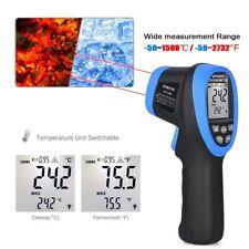 Non Contact Temperature Temp Meter Digital Laser Thermometer Infrared Gun Fda