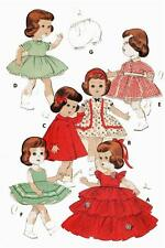 """Ginny Muffie Littlest Angel Doll Clothing PATTERN 7971 for 11"""" Vogue dolls"""