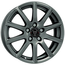 15 inch Wolfrace GB Milano 4x108 TITANIUM 4 stud Peugeot Ford alloy wheels