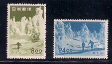 Japan 1951 Sc # 523-24 Park Mlh (49239)
