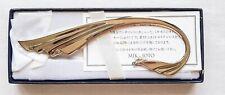 Authentic Mikimoto Bookmark with Pearl in Original box
