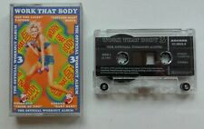 Cassette Various ‎– Work That Body 3 House, Techno, Downtempo, Euro House 1995