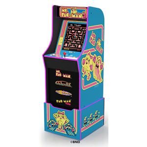 (NEW) Ms Pacman Arcade Machine with Riser, Arcade1Up - FAST DELIVERY