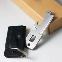 5 in 1 Multi-Purpose EDC Taschen-Überlebens-Werkzeug Schraubendreher