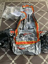 Rare Inflatable Nascar Adult Chair 2001 New Doors Light Cup Holder