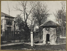 Charles MARVILLE: Jardin des Plantes a Paris 1852/ SALTED Paper print / CREDITED