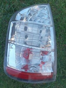 Toyota Prius Taillight LHS 2005-2009 s2 clear lamp Genuine!