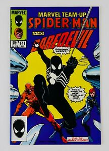 Marvel Team-Up #141 First Spider-man Black Costume Appearance 1st App Key Grail