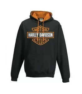 Harley Davidson Hoodie Contrast design BRAND NEW, sizes XS-XXL