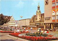 B34362 Messestadt leipzig Markt und Altes Rathaus  germany