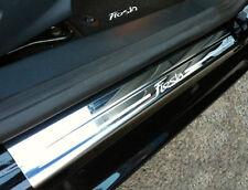 Genuine New Ford Fiesta MK7 Front Door Scuff Plates Chrome Finish 3 Door 2008 On