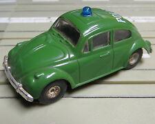 Faller AMS --  VW Käfer Polizei mit Flachankermotor + 8 neue Repro Reifen