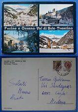 Fucine e Ossana - Val di Sole - Trentino - vedutine, viaggiata 1977
