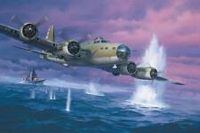 """""""Close Call"""" Roy Grinnell Print Signed by Multiple WW II Combat Airmen (ACAHOF)"""