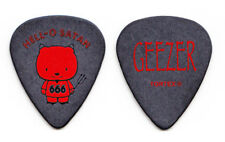 Black Sabbath Heaven and Hell Geezer Butler Hello Satan Guitar Pick - 2008 Tour