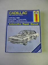 HAYNES #751 Automotive Repair Manual Book for CADILLAC 1970-1990