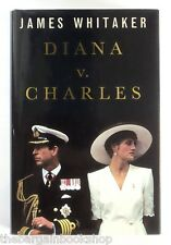 DIANA v CHARLES James Whitaker (1993) HARDBACK - 1st Edition - Mint Condition