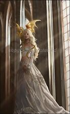 Nene Thomas Asiria Limited Edition LE Signed Print Dragon Queen White Blond NEW