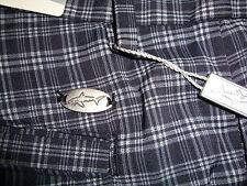 GREG NORMAN Signature Series Golf SHORTS  BLACK  w/Stripe  Sz 38 NEW