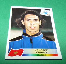 N°60 YOUSSEF CHIPPO MAROC MOROCCO PANINI FOOTBALL FRANCE 98 1998 COUPE MONDE WM