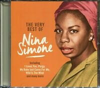 THE VERY BEST OF NINA SIMONE CD SUMMERTIME, HE NEEDS ME & MORE