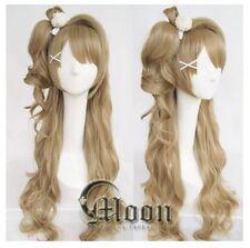 Love Live! Kotori Minami brown Long wig Cosplay Wig party Anime hair
