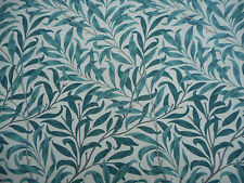 William Morris Fabric 'Willow Boughs' 3.8 METRES 380cm Taupe/Green 100% Cotton