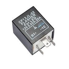 Tasso di Flash Fix segnale indicatore di virata Lampeggiante relay LED lampadine (3 PIN CF13 JL-02)