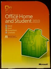Microsoft Office Home & Student 2010 Full Version w/ Product Key NM