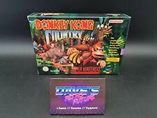 DONKEY KONG COUNTRY - SUPER NINTENDO - SNES - PAL - OVP - CIB - BOXED - #552