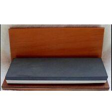 "10"" x 3"" x 1"" Dual Soft (400 grit) /Black (1200 grit) ARKANSAS Whetstone / Box."