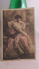 cpa fantaisie femme  artiste celebrité actrice reutlinger palais royal faber