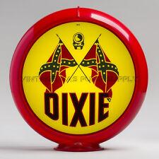 "Dixie 13.5"" Gas Pump Globe w/ Red Plastic Body (G123)"