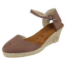 Sandalias y chanclas de mujer de color principal marrón sintético talla 38
