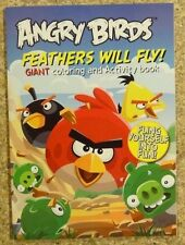 Angry Birds Giant Coloring and Activity Feathers Will Fly! New