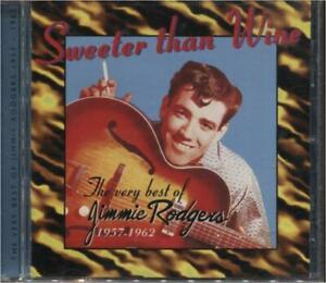 Jimmie Rodgers --Very Best Of 1957-1962 --CD w/26 Trks